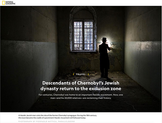 Descendants of Chernobyl's Jewish dynasty return to the exclusion zone 1