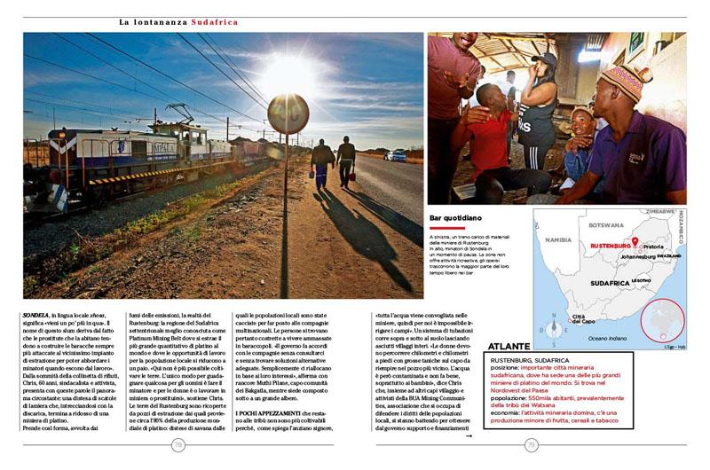 Sudafrica, Platino e Miseria 3