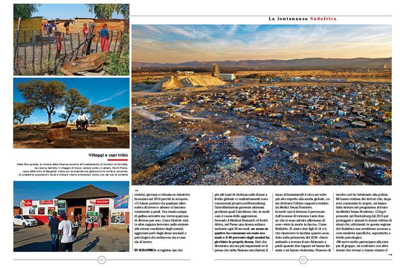 Sudafrica, Platino e Miseria 2