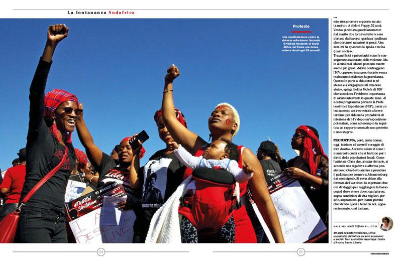 Sudafrica, Platino e Miseria 4