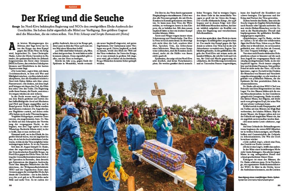 Ebola-Ausbruch im Kongo | Der Krieg und die seuche 1