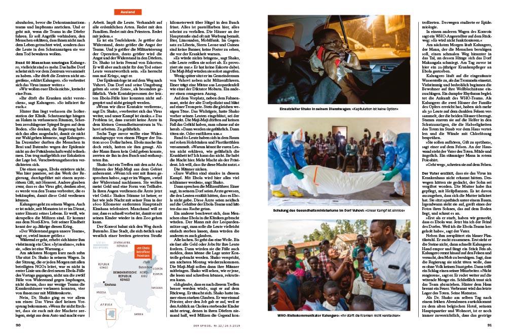 Ebola-Ausbruch im Kongo | Der Krieg und die seuche 2