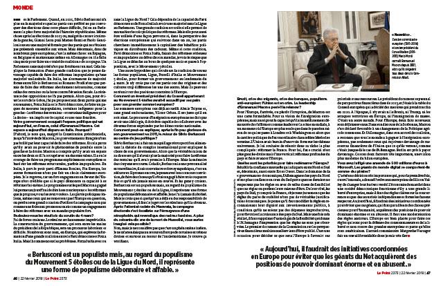 "Monti: ""Macron, un atout pour l'Europe"" 2"