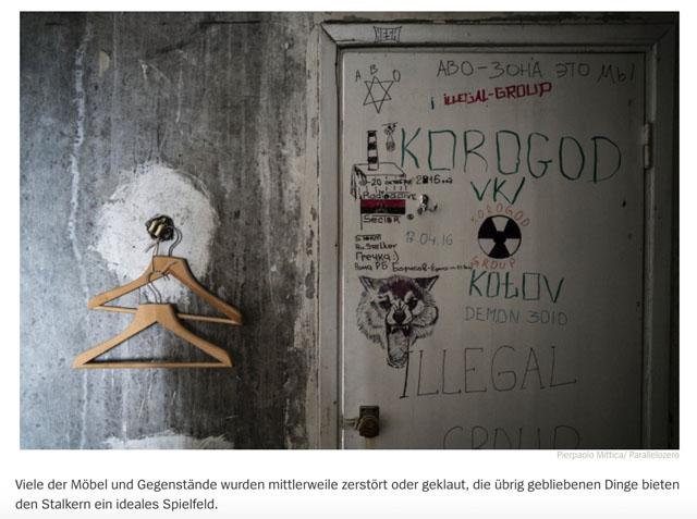 Die Stalker von Tschernobyl 4