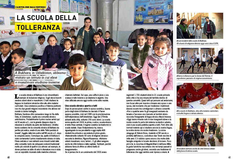 Bukhara - Uzbekistan | La scuola della tolleranza 1