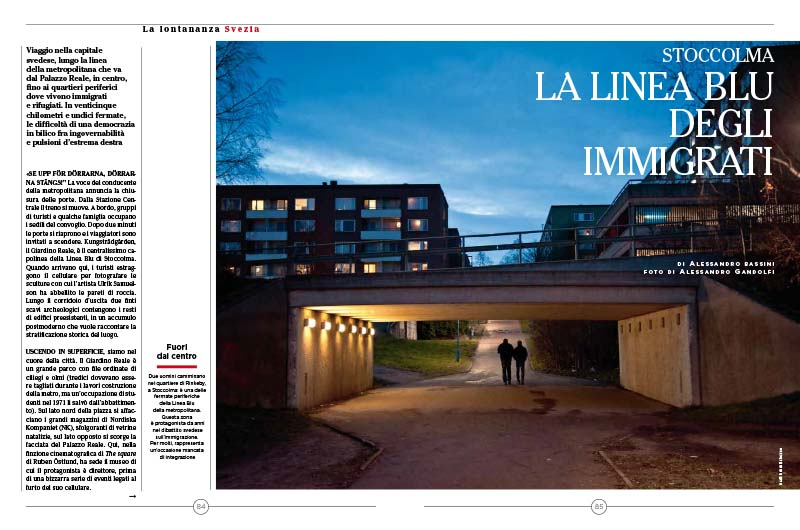 Stoccolma | La linea blu degli immigrati 1