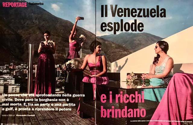 Il Venezuela esplode 1