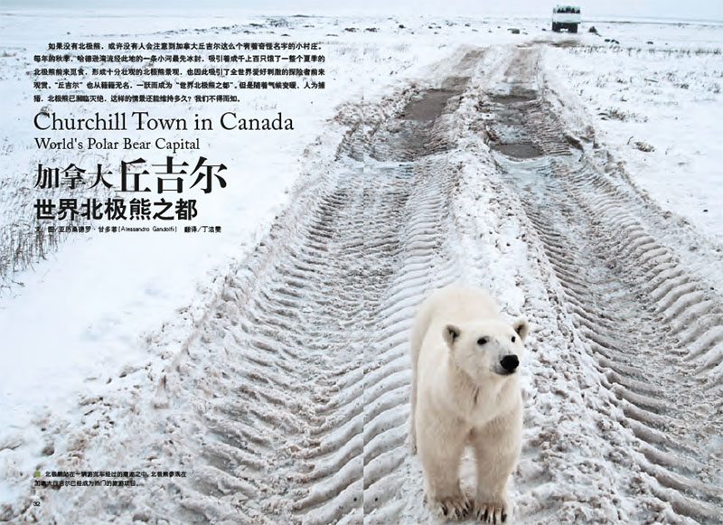 Churchill Town in Canada. World's Polar Bear Capital 1