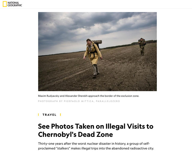 Illegal Visits to Chernobyl's Dead Zone 1