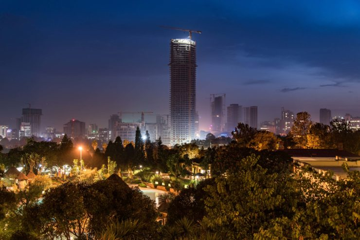 Addis Abeba. The New Flower of Africa