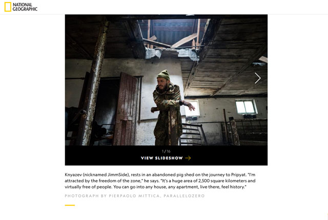 Illegal Visits to Chernobyl's Dead Zone 2