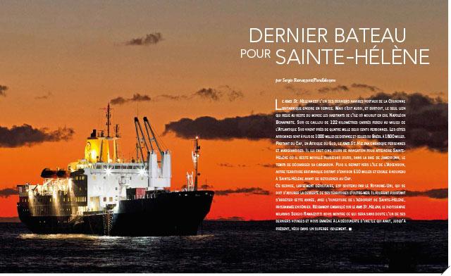 Dernier bateau pour Sainte-Hélène 1