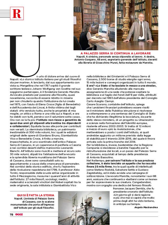 Istituto Italiano per gli Studi Filosofici 3