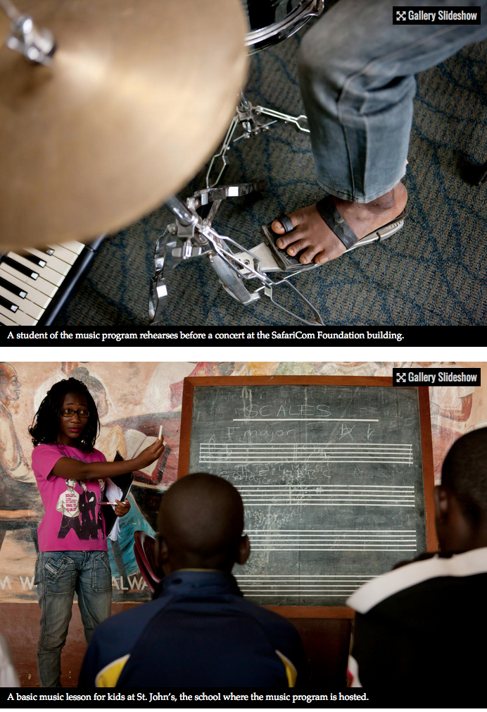 Bach to the future in a Nairobi slum 7