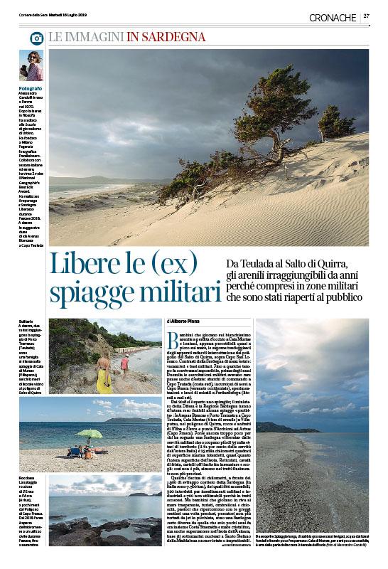 Libere le (ex) spiagge militari 1