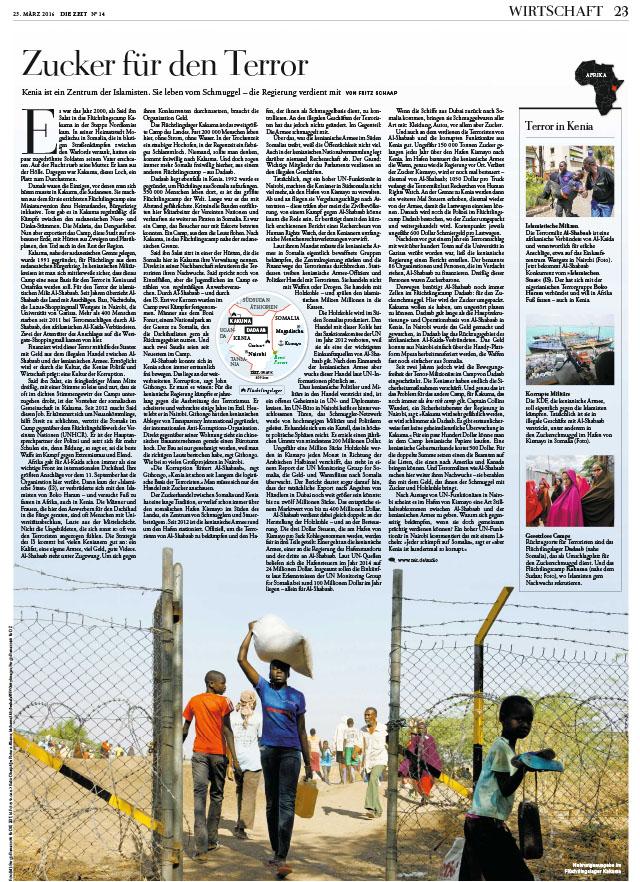 Kenya, Kakuma. Zucker für den Terror 1