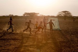 KAKUMA, NOWHERE ON EARTH. In the extreme north of Kenya, not far from the South Sudanese border, is a hot, dusty and waterless place called nowhere. Or Kakuma, as it translates in the local Turkana language. Since 1992, Kakuma is the place that the Kenya 1