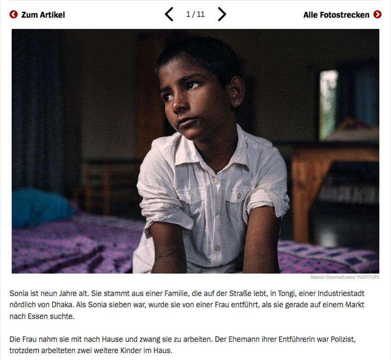 Bangladesch | Unsichtbare Sklavinnen 2