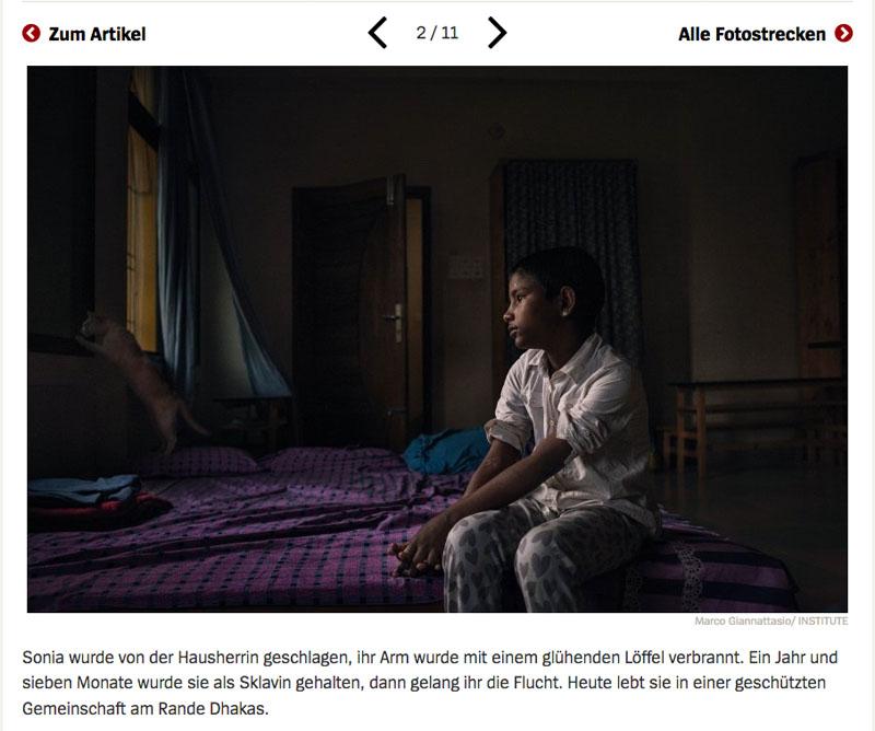 Bangladesch | Unsichtbare Sklavinnen 3