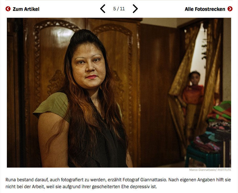 Bangladesch | Unsichtbare Sklavinnen 6