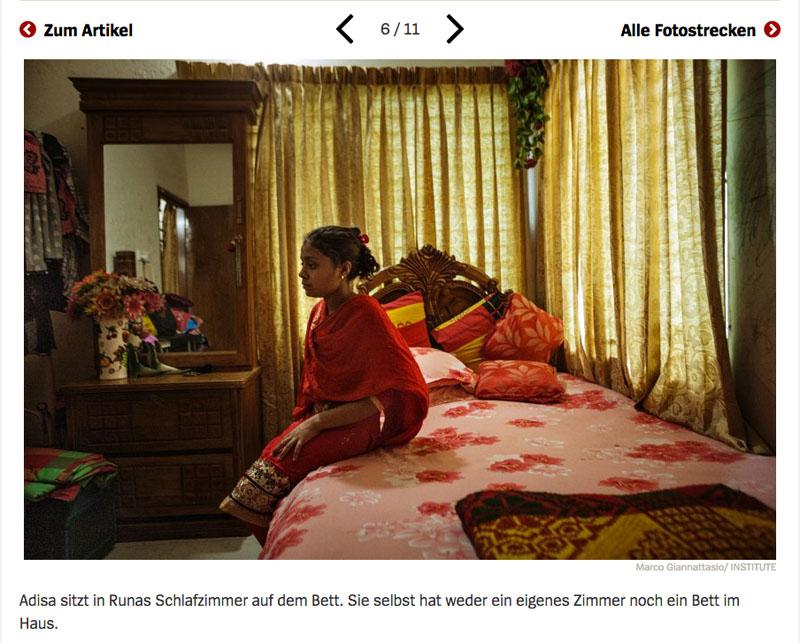 Bangladesch | Unsichtbare Sklavinnen 7