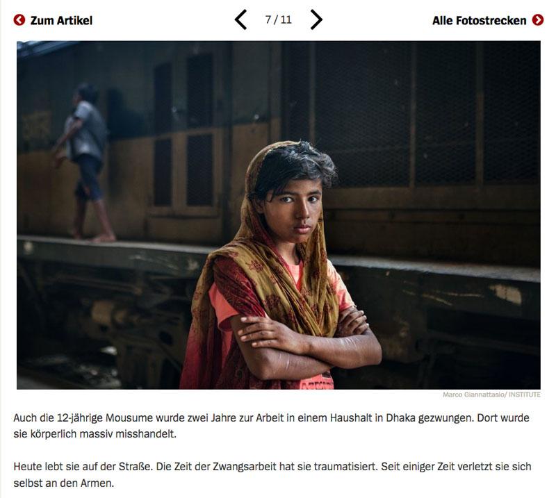 Bangladesch | Unsichtbare Sklavinnen 8