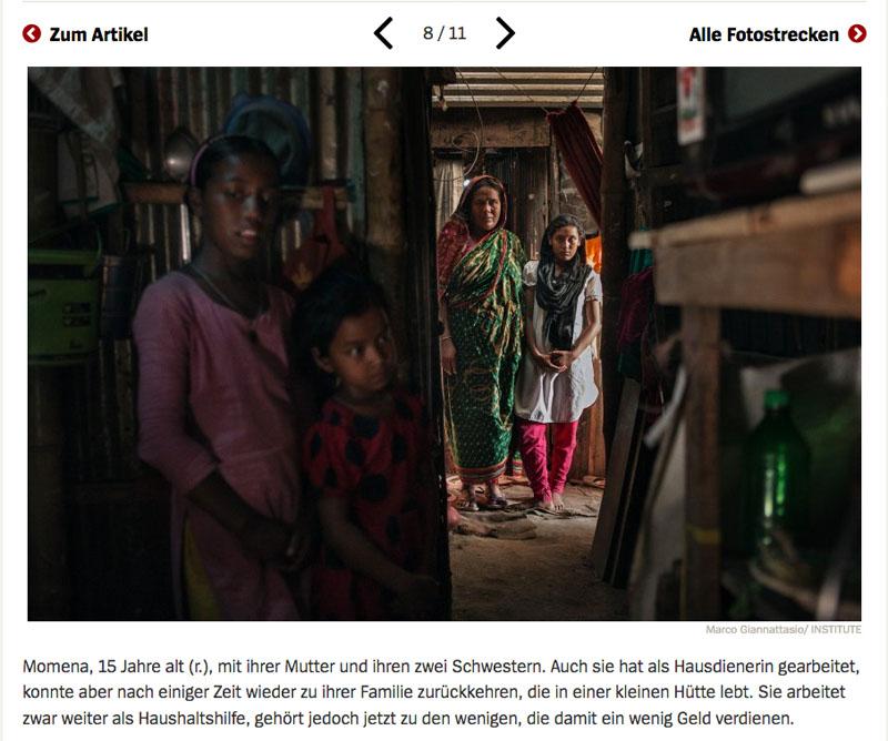 Bangladesch | Unsichtbare Sklavinnen 9