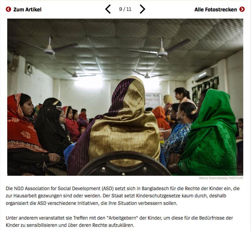 Bangladesch | Unsichtbare Sklavinnen 10