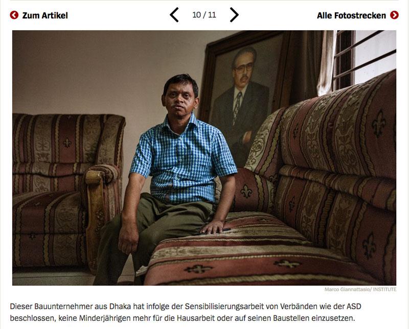 Bangladesch | Unsichtbare Sklavinnen 11