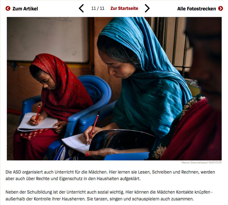 Bangladesch | Unsichtbare Sklavinnen 12