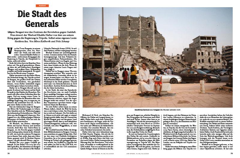 Libyen, Bengasi |Die Stadt des Generals 1