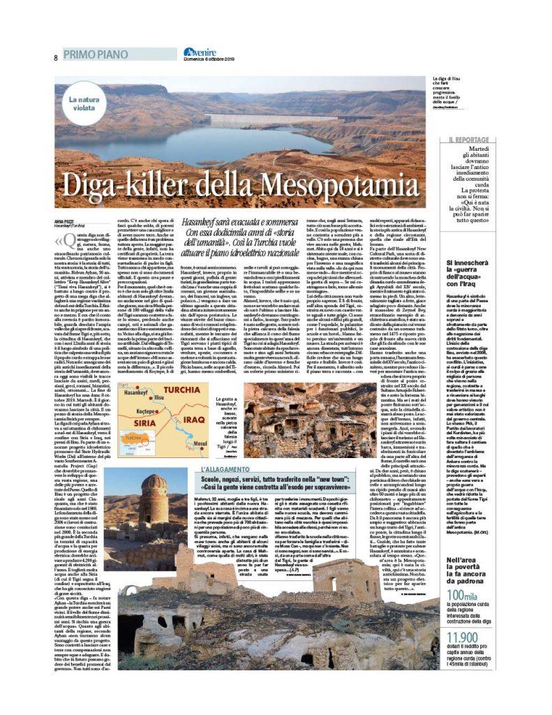 Hasankeyf | Diga-killer della Mesopotamia 1