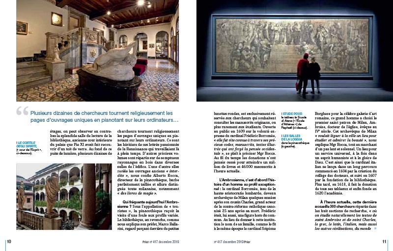 L'Ambrosienne. À Milan, savoir et beauté 3