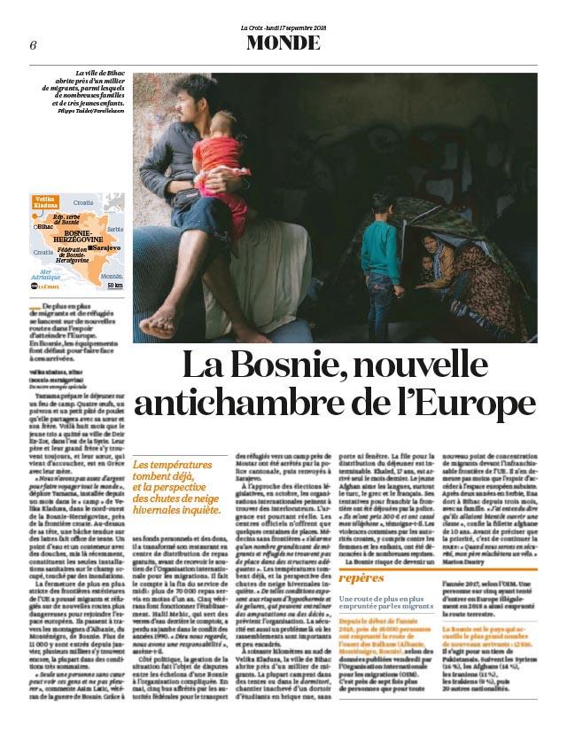 La Bosnie, nouvelle antichambre de l'Europe 1