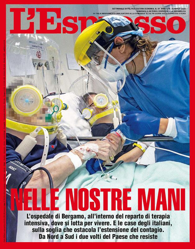 Nelle nostre mani | Italiavirus / La trincea | Bergamo. Marzo 2020 1
