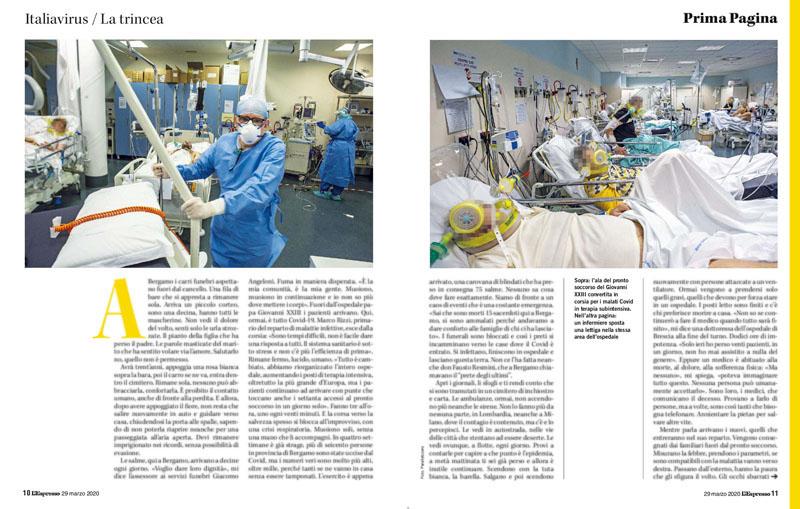 Nelle nostre mani | Italiavirus / La trincea | Bergamo. Marzo 2020 3