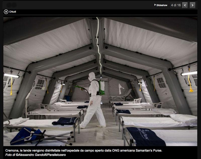 War Surgery: Italia, reparti in campo come in trincea 4