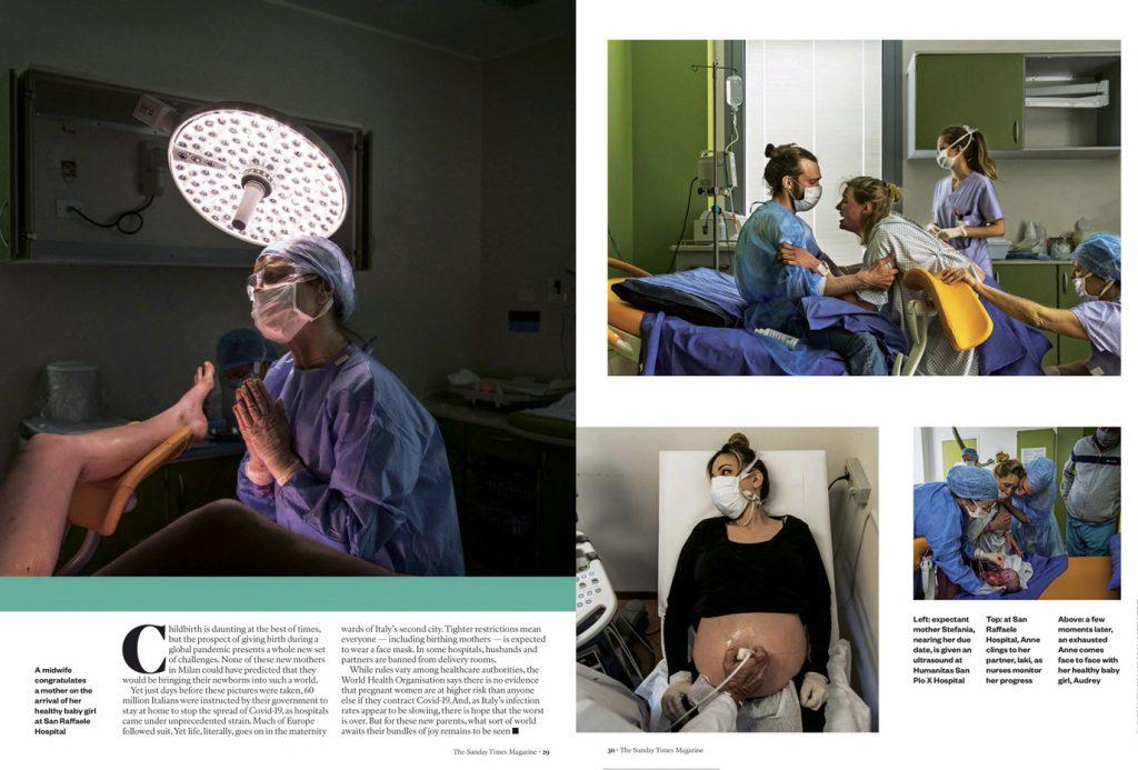 Coronavirus | Italy's maternity wards. Milan's mini miracles 2