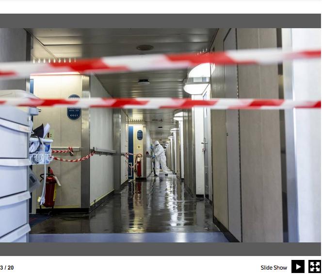 Genova. La nave che si è trasformata in un ospedale contro il Covid-19 5