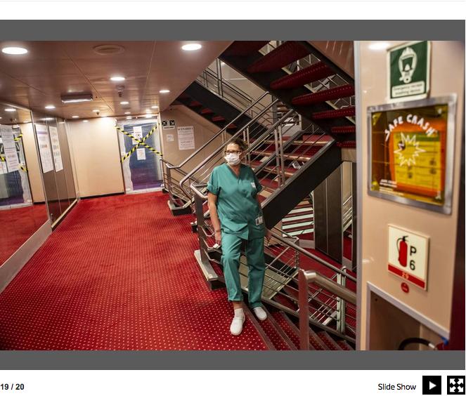 Genova. La nave che si è trasformata in un ospedale contro il Covid-19 21