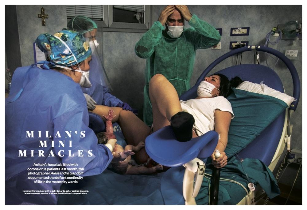 Coronavirus | Italy's maternity wards. Milan's mini miracles 1