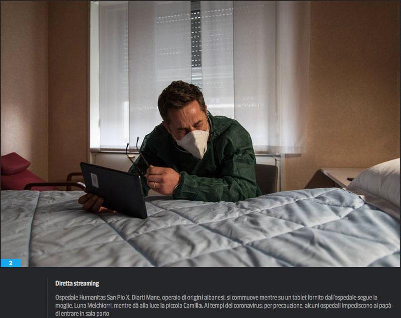 L'emergenza sanitaria | Lacrime e tablet. La vita è adesso 3
