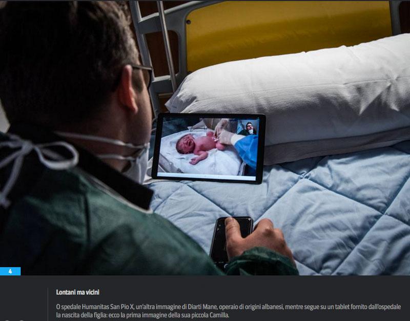 L'emergenza sanitaria | Lacrime e tablet. La vita è adesso 5