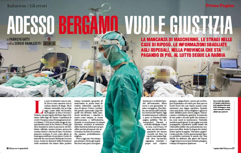 Italiavirus / Gli errori | Adesso Bergamo vuole giustizia 1