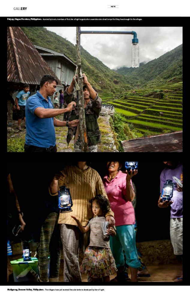 "Philippines ""Liters of light"" that are changing the lives of vulnerable communities 3"