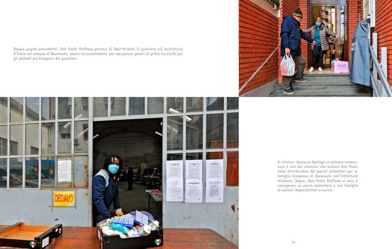 Coronavirus | Milano.  L'esercito della salvezza 12