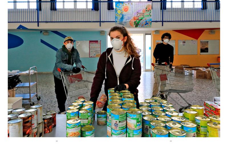 Coronavirus | Milano.  L'esercito della salvezza 16
