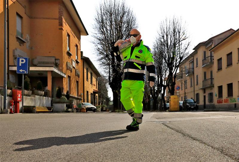 Coronavirus | Milano.  L'esercito della salvezza 2