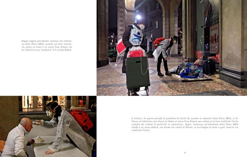 Coronavirus | Milano.  L'esercito della salvezza 8