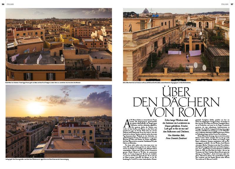 Lockdown | Über den Dächern von Rom 1